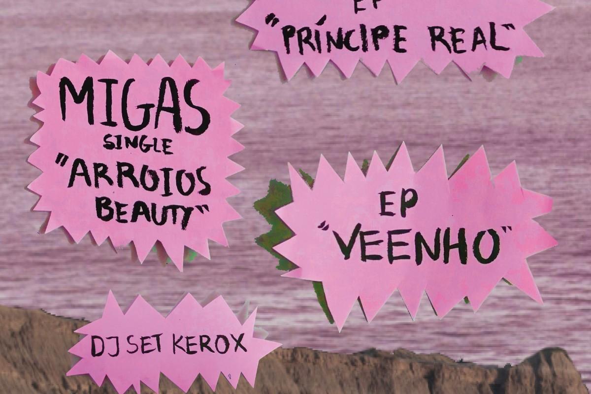 Triplo Lançamento com Lucía Vives, Veenho e Migas + DJ Kerox | 04 de Março