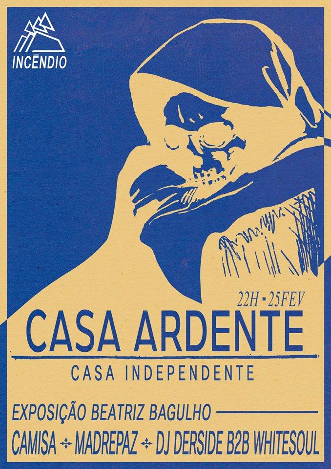 cartaz Casa Ardente