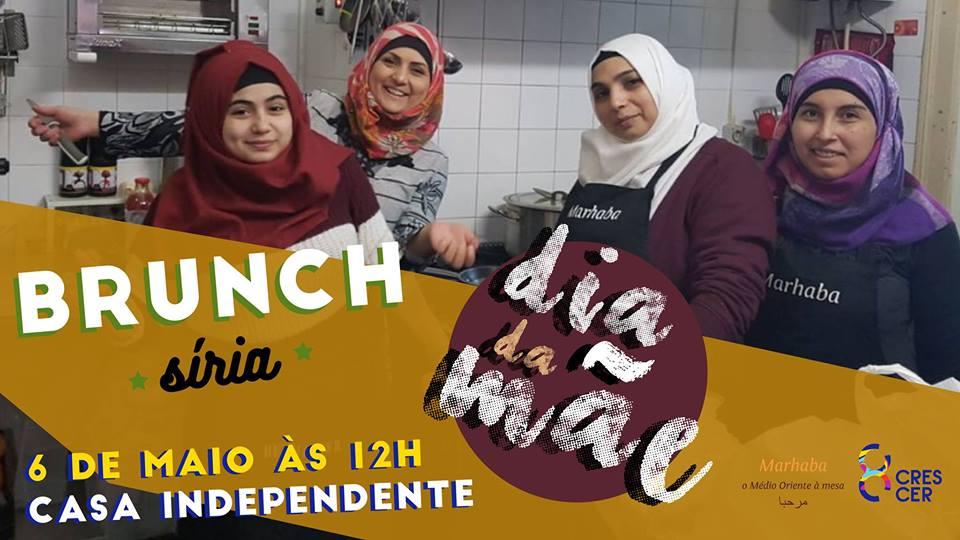 Brunch Tradicional da Síria | 6 Maio | 12h | 15€