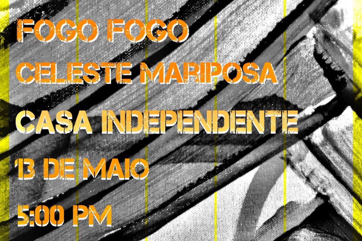 Espanta Bjon :: Fogo-Fogo + CelesteMariposa   13 Maio   17h   6€